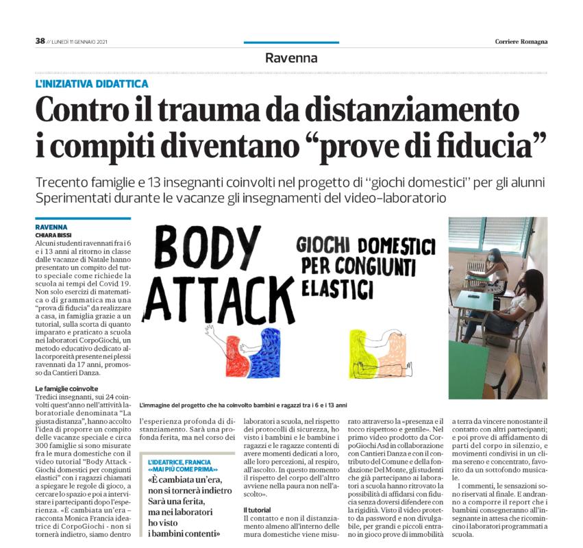 Corriere Romagna - 11 gennaio 2021