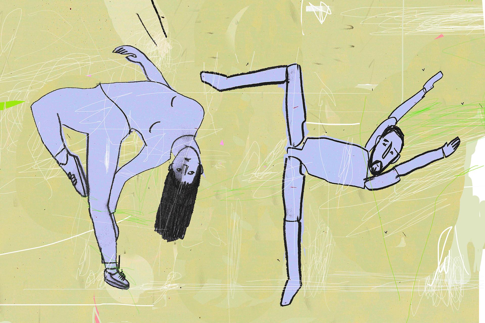 Anonima - Cecilia Ventriglia - illustrazione Davide Calvaresi