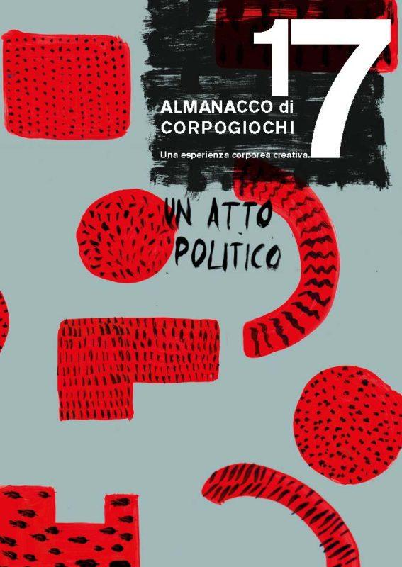 Copertina ALMANACCO 2017 CorpoGiochi - Cantieri Danza