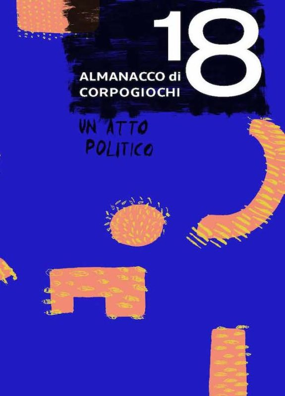 Copertina ALMANACCO 2018 CorpoGiochi - Cantieri Danza