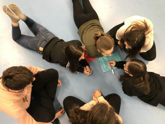 CorpoGiochi a scuola map your life-liceo   Cantieri Danza