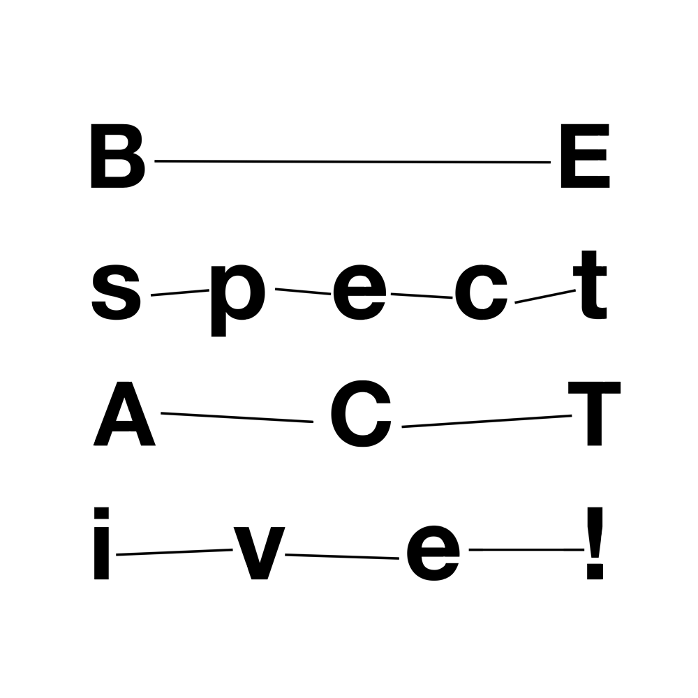 logo Be Spectative